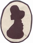 silohuette of Adeline