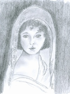 Young Woman in a Veil