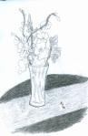 A Vase of Gladiolas