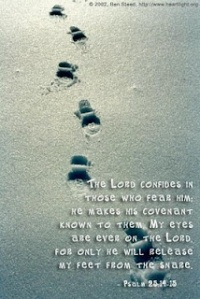 footsteps of faith