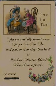 Tea invitation #3