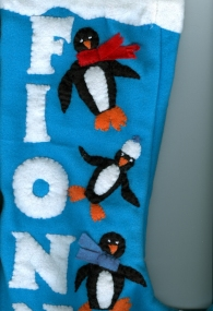 Fionntan's stocking