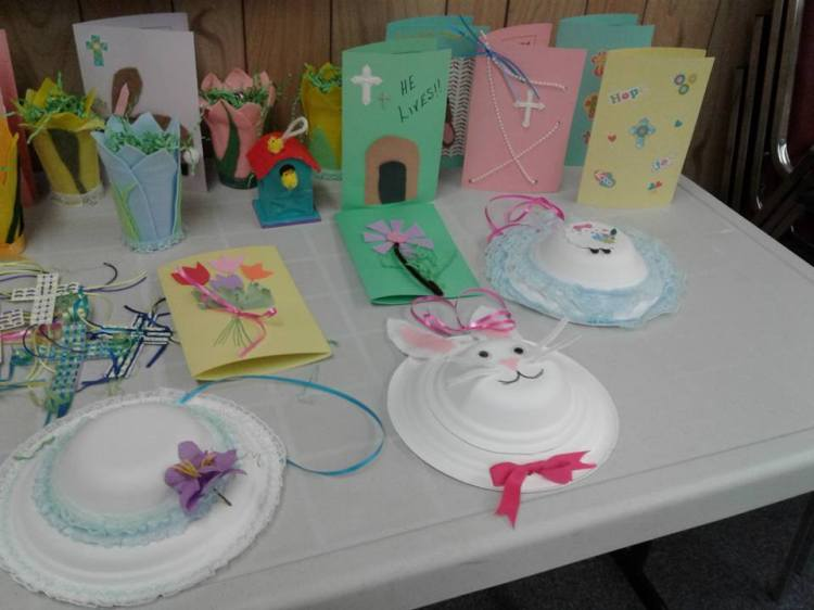 Another lot of crafts for Easter 2017