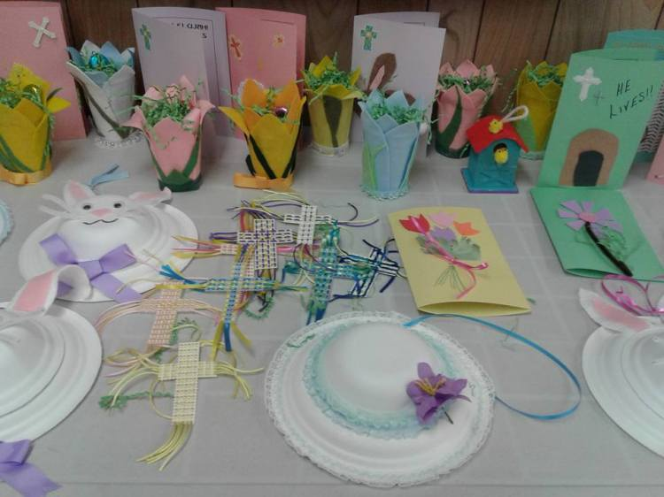Easter Crafts for the Manor 2017