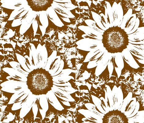 my sunflower pattern