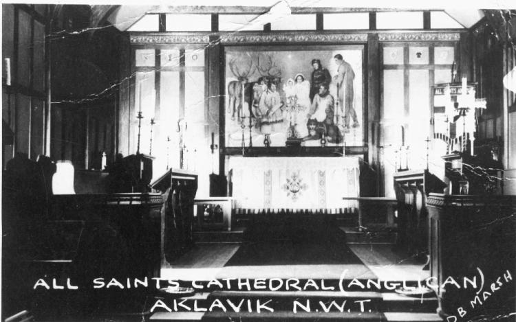 All Saints Cathedral- Aklavik