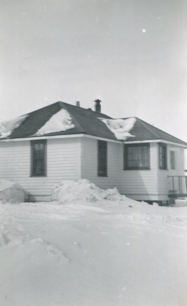 Our home in Aklavik