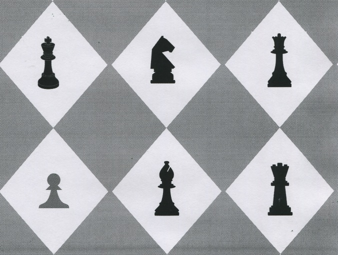 chess game pattern